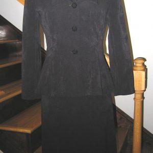 1940s Black Suit