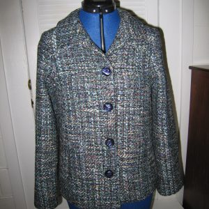 Blue Linton Tweed Jacket