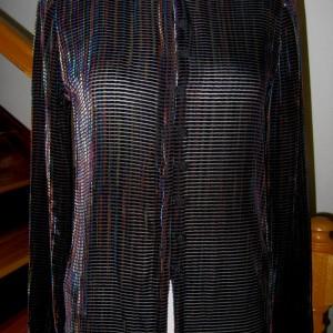 Burn-Out Velvet Jacket