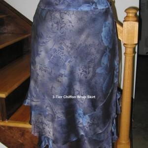 Chiffon 3-tier Skirt