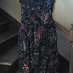 Print Challis Dress