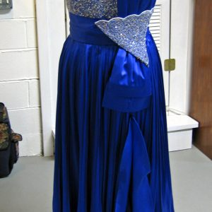 Silk Charmeuse Evening Gown