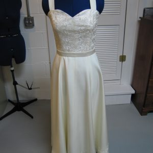 Silk Duoppini Graduation Dress